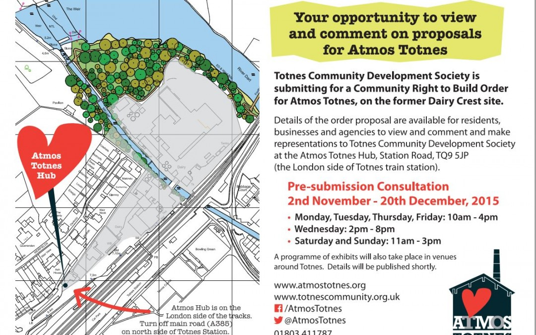 Atmos Totnes Regulation 14 Consultation